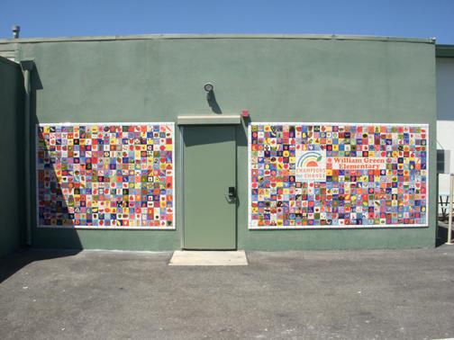 William Green Elementary Tile Mural